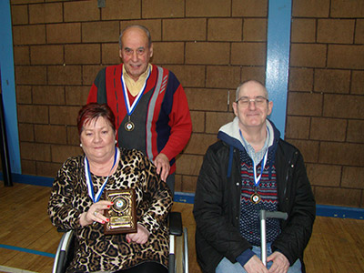 Glynis' Boys - runner up in Jigsaw NI Boccia tournament 2016