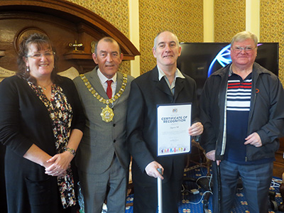 Jigsaw NI Meet the Lord Mayor of Belfast