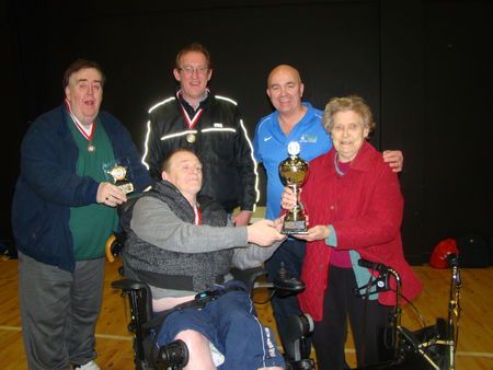 Jigsaw NI team win the first ever  Andy Ross Boccia tournament